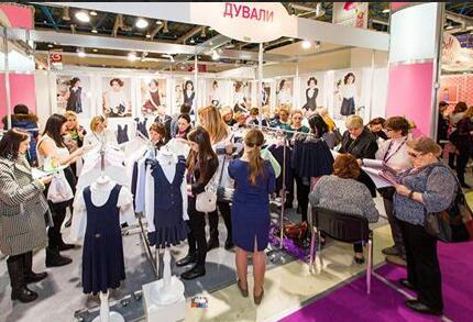 俄罗斯莫斯科国际秋季儿童及少年时装展览会
