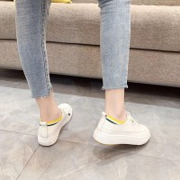 小白鞋女学生平底休闲鞋2020春季新款N6洋气超火百搭ins潮板鞋女